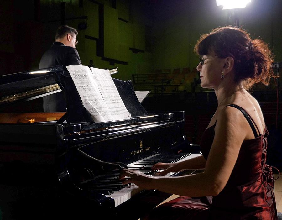 Clementina Ciucu-Ristea și Emil Vișenescu