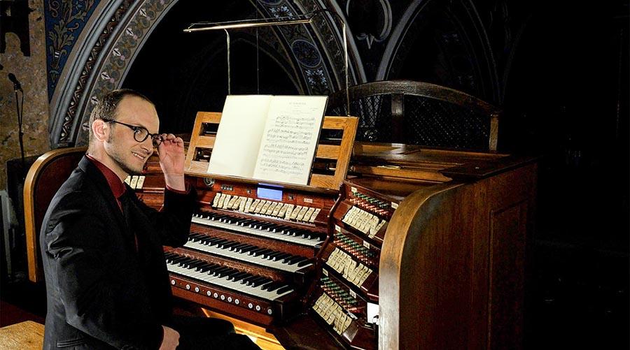 Eduard Antal - orgă