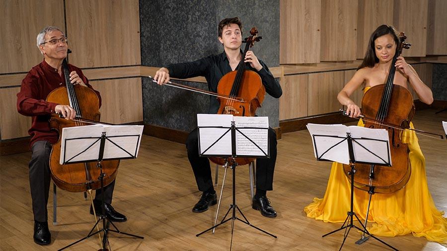 Violoncellissimo • Marin Cazacu, Ștefan Cazacu, Ella Bokor