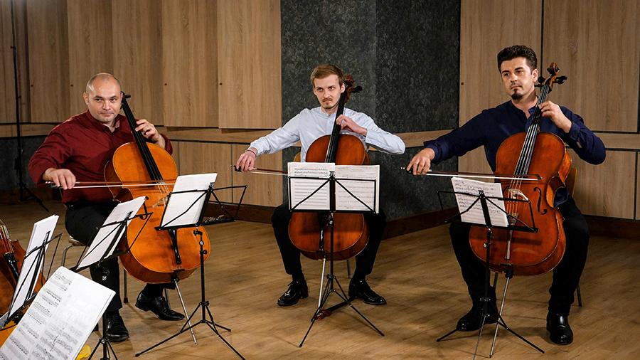 Violoncellissimo • Radu Sinaci, Constantin Borodin, Mircea Marian