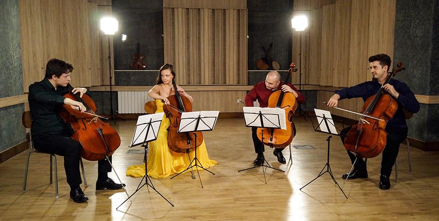 Violoncellissimo • Ștefan Cazacu, Ella Bokor, Radu Sinaci, Mircea Marian