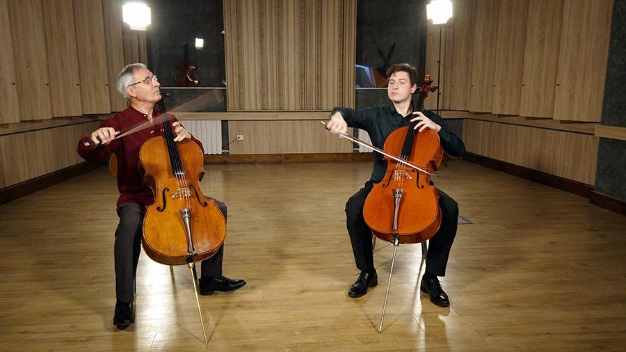 Violoncellissimo • Marin și Ștefan Cazacu